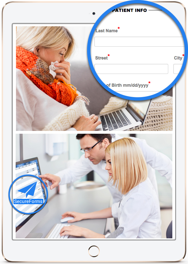 Online Patient Forms and Patient Appointments System