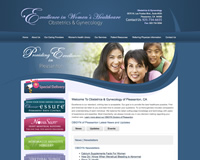 Gynecology Website Design