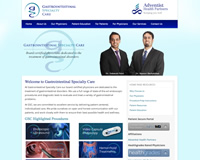 Gastroenterology Website Design