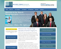 ENT Practice Website Design