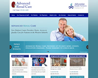 Nephrology Website Design