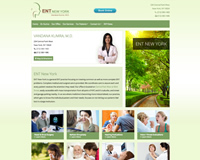 ENT Sinus Website Design