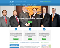 Surgery Center Website Design
