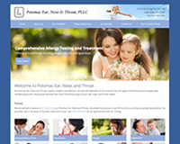 ENT Web Site Design