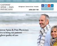 Spine Pain Medicine Website Design