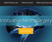 Neurosurgery Website Design Company